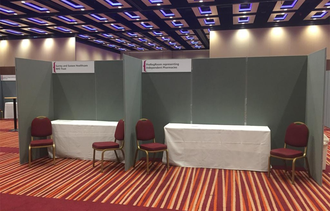 Exhibition poster and display panel Liverpool