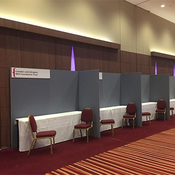 Display panel rental London