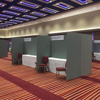 Display panel hire London